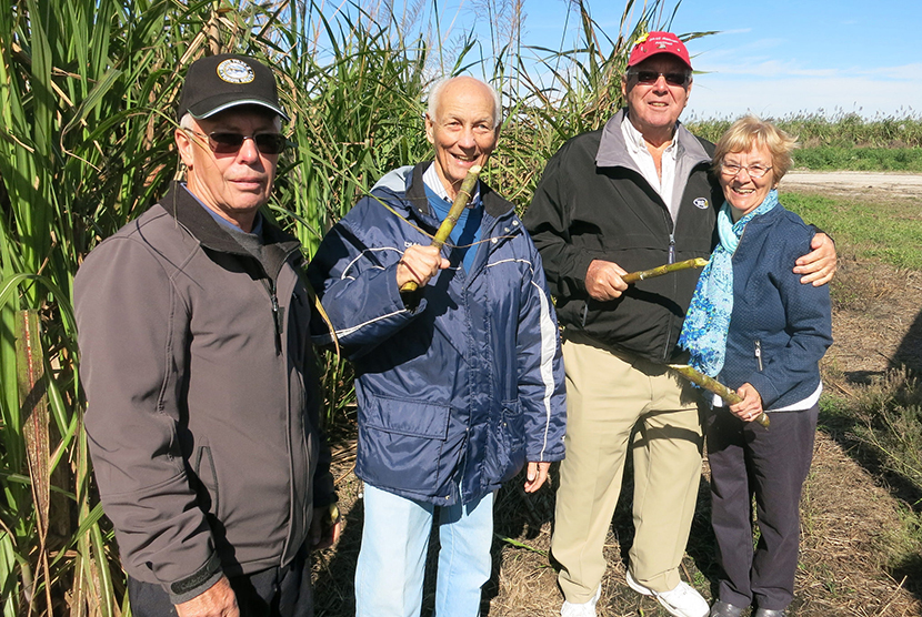 Alumni with Sugarcane
