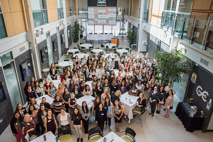 group of attendees